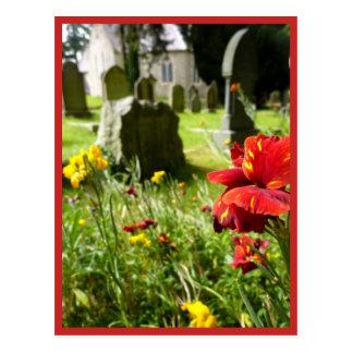 Het Kerkhof van Enniskerry Briefkaart