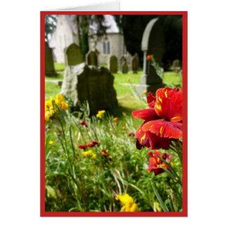Het Kerkhof van Enniskerry Kaart