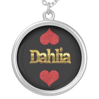 Het ketting van de dahlia