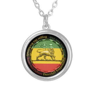 Het Ketting van de Tegenhanger van Reggae van Rast