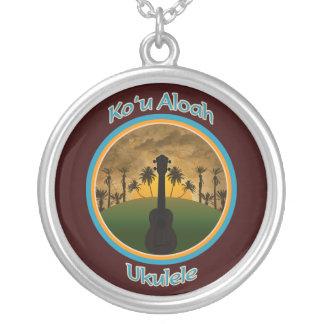 Het Ketting van de Ukelele van u Aloah van Ko `