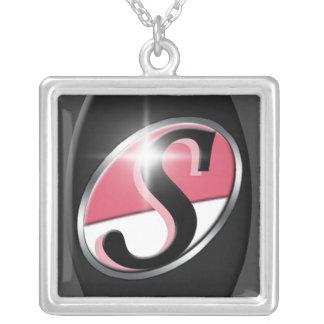 Het Ketting van het Logo van de Handtekening S van