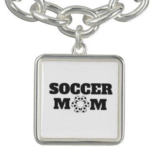 Het Ketting van het Mamma van het voetbal Armbandje