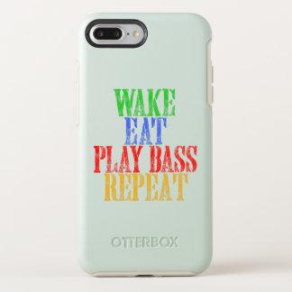 Het kielzog eet de BAARZEN van het SPEL herhaalt OtterBox Symmetry iPhone 8 Plus / 7 Plus Hoesje
