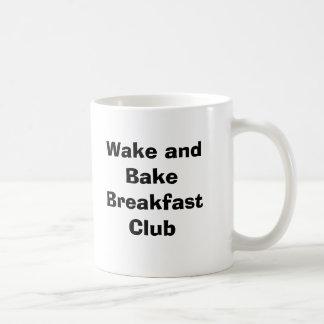 Het kielzog en bakt de Club van het Ontbijt Koffiemok