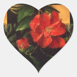 Het kiezen van Camilias Hart Sticker