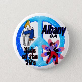 Het Kind van Albany van de jaren '70knoop Ronde Button 5,7 Cm
