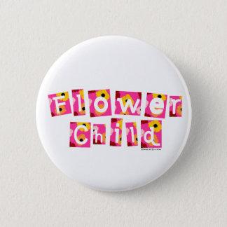 Het Kind van de bloem Ronde Button 5,7 Cm
