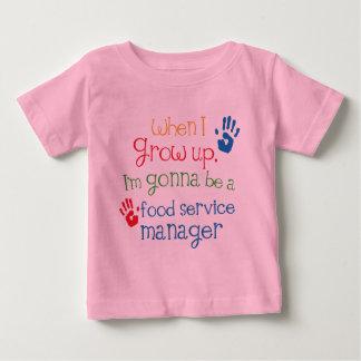 Het Kind van de Dienst van het voedsel van de Baby T Shirts