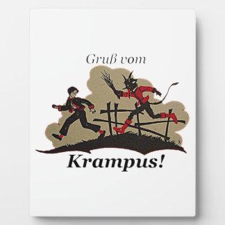 Het Kind van de Jacht van Krampus Fotoplaat
