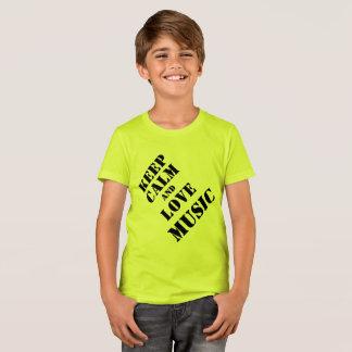 Het Kind van de T-shirts van de muziek