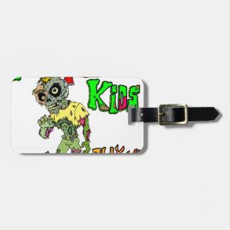 Het Kind van de zombie Kofferlabel