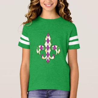 Het Kind van Gras Argyle van Mardi en het Overhemd T Shirt