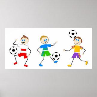 Het Kind van het voetbal Poster