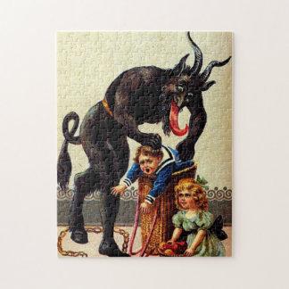 Het Kind van Krampus in het Raadsel van Kerstmis Legpuzzel