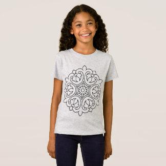 Het KINDER grijs van de ontwerperst-shirt met T Shirt