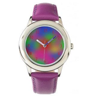 Het kinder Horloge van de Regenboog