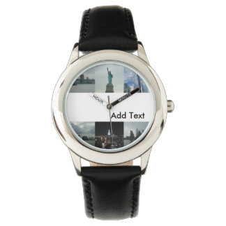 Het kinder Horloge van New York van de Douane