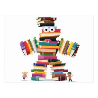 Het kinder Monster van het Boek Briefkaart
