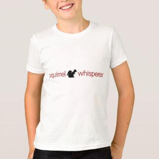 Het Kinder Overhemd van Whisperer van de eekhoorn T Shirt