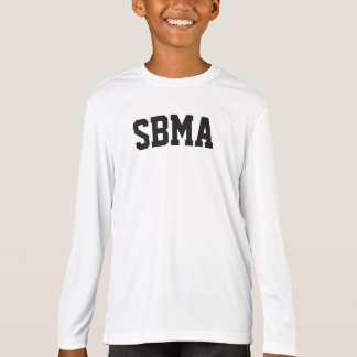 Het kinder SBMA overhemd van lang-sleeveprestaties T Shirt