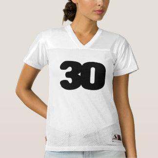 Het KLANTGERICHTE 30ste Football Jersey van de