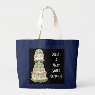 Het klantgerichte Canvas tas van de Cake van het