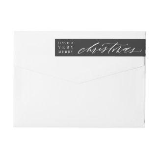 Het klantgerichte Etiket van de Envelop van