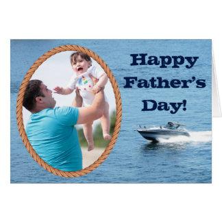 Het klantgerichte Gelukkige Vaderdag voegt Uw Wenskaart