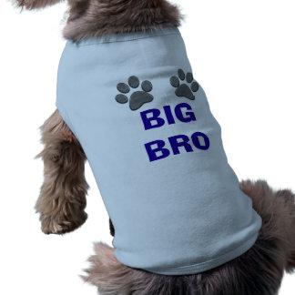 Het klantgerichte GROTE Overhemd van de Hond BRO Shirt