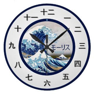 Het klantgerichte Japanse Stuk van de Tijd Grote Klok