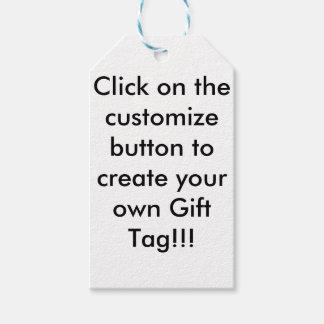 Het klantgerichte Label van de Gift Cadeaulabel