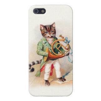 Het klantgerichte Muzikale Victoriaans hoesje van  iPhone 5 Case