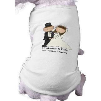 (Het klantgerichte) Paar van het huwelijk T-shirt