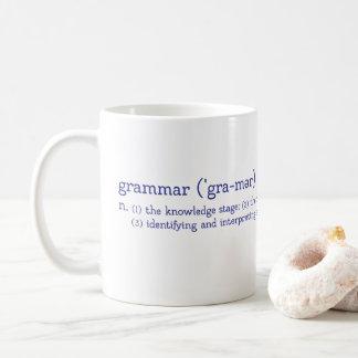 Het KLANTGERICHTE Stadium van de Grammatica Koffiemok