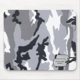 Het klantgerichte stootkussen van de camouflagemui muismat