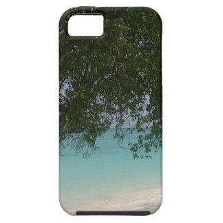 Het klantgerichte Strand van Barbados Tough iPhone 5 Hoesje