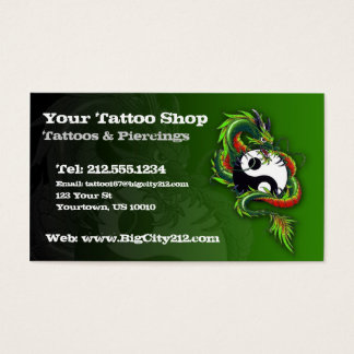 Het KLANTGERICHTE Visitekaartje van het Tattoo Visitekaartjes