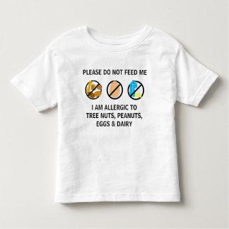 Het klantgerichte Waakzame Kind van de Allergie Kinder Shirts