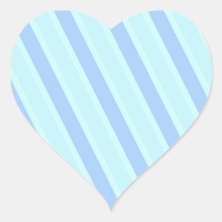 Het klassieke Blauw van de Jongen van het Baby van Hart Stickers