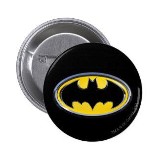 Het Klassieke Logo van Batman Ronde Button 5,7 Cm
