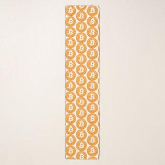 Het klassieke oranje en witte logo van Bitcoin Sjaal