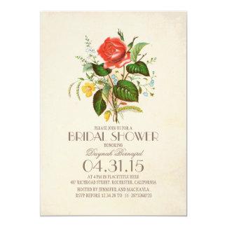 het klassieke vintage vrijgezellenfeest van de 12,7x17,8 uitnodiging kaart