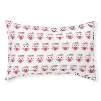 Het kleine Leuke Roze Bed van de Hond van het Hondenbedden