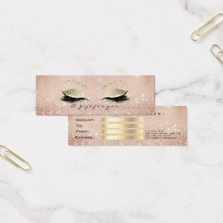 Het kleine Magere Certificaat van de Gift Mini Visitekaartjes