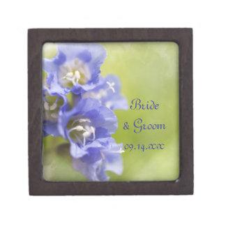 Het kleine Paarse Huwelijk van de Tuin van Bloemen Premium Cadeau Doosjes