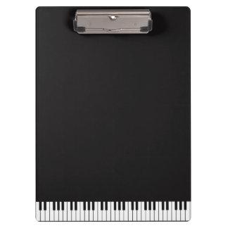 Het Klembord van de Sleutels van de piano