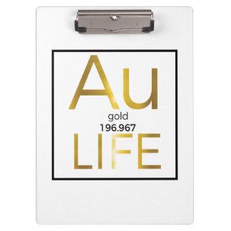 Het Klembord van het Leven van Au