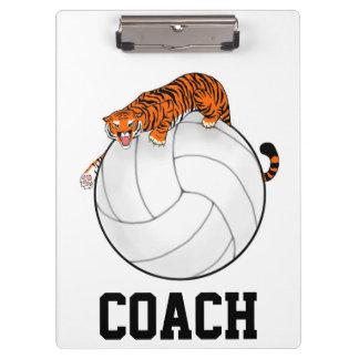 Het Klembord van het Volleyball van de tijger, bus
