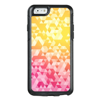 Het kleurrijke Abstracte Patroon van de Driehoek OtterBox iPhone 6/6s Hoesje